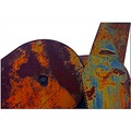 machinery rust steel abstract art