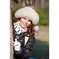 girl woman wife portrait winter face hat park smile nikon sigma nature bulgaria