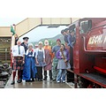 wales blaenafon railways trains objects landscape people kilts olympictorch