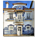 aveiro portugal estacao comboios train station azulejo