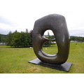 oval with points 196870 bronze henry moore