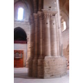 seu vella lleida pillar column cathedral interior