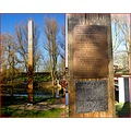 Amstelpark Amsterdam memory pole flood disastre