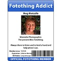 fotothinger addict ID badge