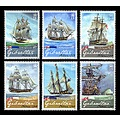 Admiral Nelson Ships Stamps