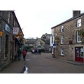 Bakewell, home of the Bakewell tart.
