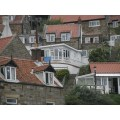 runswickbay coast houses oddoneout curves lines white window