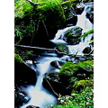 stream waterfall nature long exposure