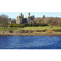 stornoway lews castle building old water sea