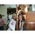 On a tour of brewery with Kath in Amsterdam