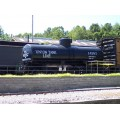 stlouis missouri us usa travel vehicle train black blue