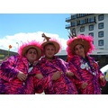 pink men folkestone festival france french feathers fur purple