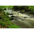River water flowing fast nature landscape