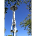 The 'Space Needle' tower in Seattle.