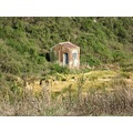 An old tin shed we came across on our walk through the Sinclair Wetlands, south of Dunedin.