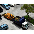 chipper aventura florida workman truck aerial view