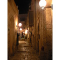Old Jaffa at night.