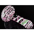 Pink Glass Hand Pipe HP7175