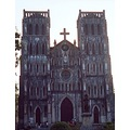 vietnam hanoi church cathedral architecture vietx hanox churv cathv archv