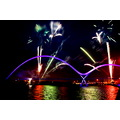 infinity bridge fireworks river tees stockton