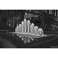 reflectionthursday water feature black white shopping arcade
