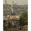 golden horn bridge construction istanbul metro
