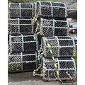 Lobster Pots Boscastle Harbour Cornwall England Rob Hickey 2011