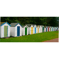 Beach huts Devon