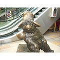 paddington station london bear