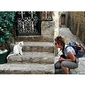 portrait woman cica cat photographer dubrovnik croatia