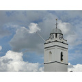 bluesky sky clouds church tower churchtower katwijk holland jolie