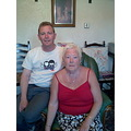 Me and me Ma (aka the daft old bat) taken a couple of weeks ago by a shaky Mel.   Large is........