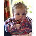 Our little grand daughter Olive Rose who is now over four months old .
