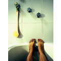 feet woman bath bathroom glo allegory mexico kahlo