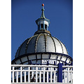 Eastbourne Pier Camera Obscura Blue