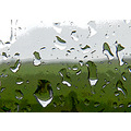 rain raindrops window manipulated abstract minimal
