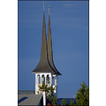 church spires tower towers iceland reykjavik