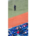 At 7:24pm.At Rogers Centre-Toronto-On Friday,Sept.27,2013