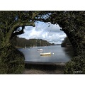 Through an arch of Hawthorne Rudyard lake
