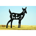 landscape scenery sculptures art architecture enchantedhighway NorthDakota