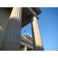 gate architecture history brandenburg berlin chariot Germany
