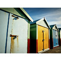 Beach hut Brighton UK