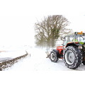 Blizzard conditions in Derbyshire.
