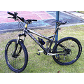bike bicycle mountain KHS XS 204 exercise full suspension