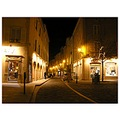 street cluny france light night evening shot