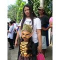 GMA7 Kapuso dwarfina parade ylleah jjean rosado mask bayawan city float