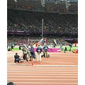 London Olympics HighJump