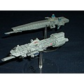 SF science fiction mini model spaceships Babylon 5