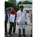 Afghans refugees in hungerstrike, day 6