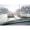 winter blizzard snow traffic winnipeg canada